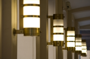 Electrical Contractor In Raleigh - Lighting on walls in Hallway